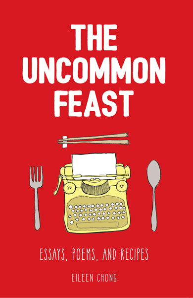 The book cover for 'The Uncommon Feast'