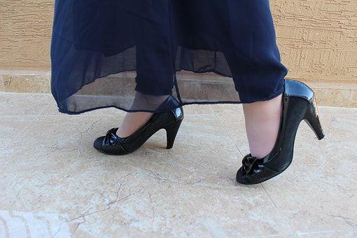 A pair of women's heels