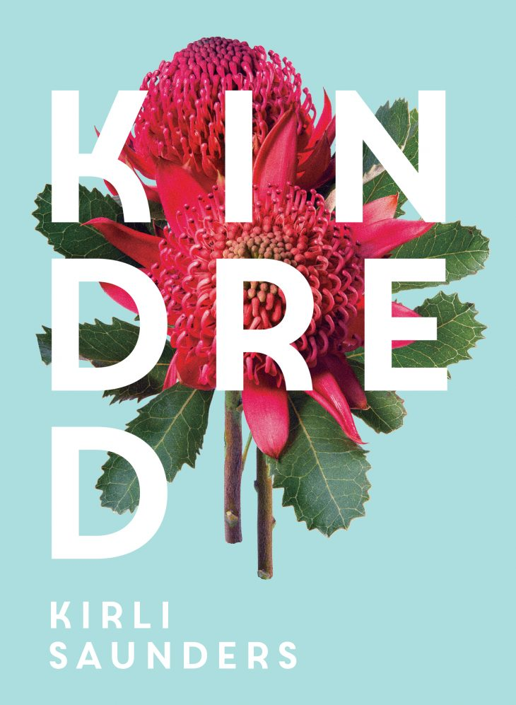 "Photo of Kirli Saunder's poetry collection ""Kindred"""