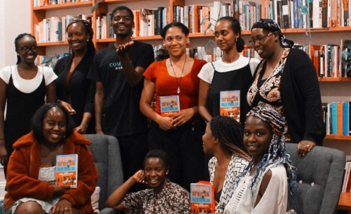 A group photo of the AfroHeritage Book Club at the Centre for Stories