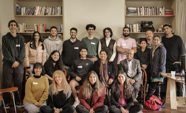 Photo of group of people from Second Generation's first workshop